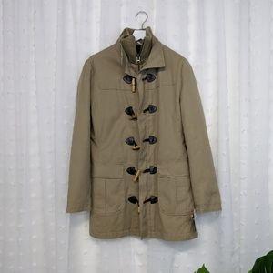 Zara Khaki Peacoat Size L